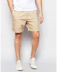 beige Shorts von Lacoste