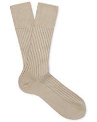 beige Socken von Falke