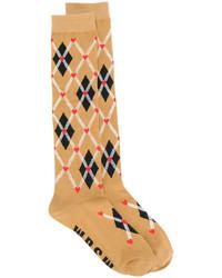 beige Socken von MSGM
