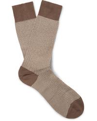 beige Socken von Pantherella