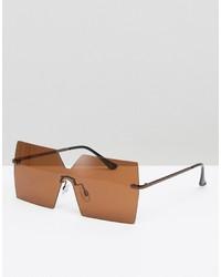 beige Sonnenbrille von Asos