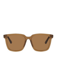 beige Sonnenbrille von Bottega Veneta