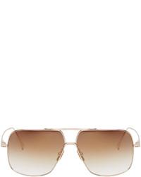 beige Sonnenbrille von Dita