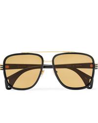 beige Sonnenbrille von Gucci