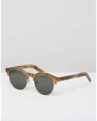 beige Sonnenbrille von Han Kjobenhavn