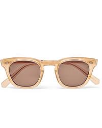 beige Sonnenbrille von Mr Leight