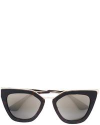 beige Sonnenbrille von Prada