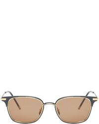 beige Sonnenbrille von Thom Browne