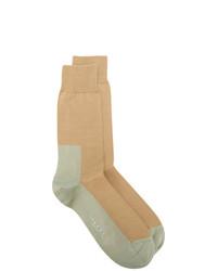 beige Strick Socken von Marni