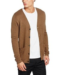 beige Strickjacke von Selected Homme