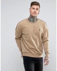 beige Sweatshirt