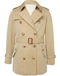 beige Trenchcoat von Alexander McQueen