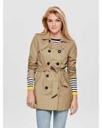 beige Trenchcoat von Only