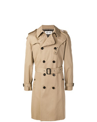 beige Trenchcoat von Saint Laurent