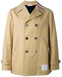 beige Trenchcoat von Thom Browne