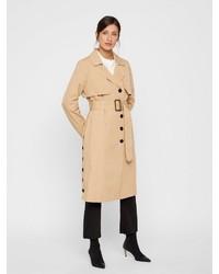 beige Trenchcoat von Y.a.s