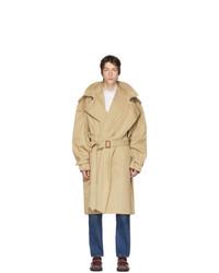 beige Trenchcoat von Y/Project