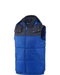 Blaue Ärmellose Jacke von adidas