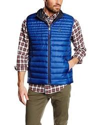 blaue ärmellose Jacke von CALAMAR MENSWEAR