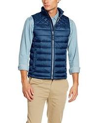 blaue ärmellose Jacke von Tom Tailor