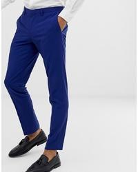 blaue Anzughose von Burton Menswear