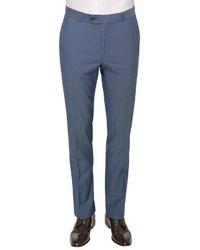 blaue Anzughose von Carl Gross