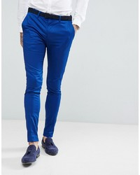 blaue Anzughose von Devils Advocate