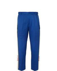 blaue Anzughose von Gucci