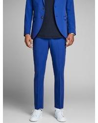 blaue Anzughose von Jack & Jones