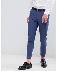 blaue Anzughose von MOSS BROS