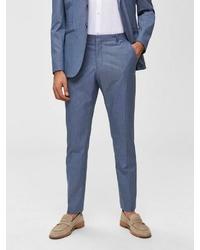 blaue Anzughose von Selected Homme