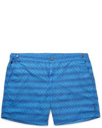 blaue Badeshorts von Hugo Boss