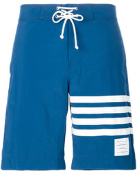 blaue Badeshorts von Thom Browne