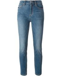 blaue enge Jeans aus Baumwolle von Marc by Marc Jacobs