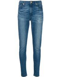 blaue enge Jeans aus Baumwolle von MICHAEL Michael Kors