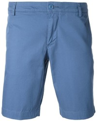 blaue Baumwollshorts von Lacoste