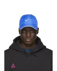 blaue bedruckte Baseballkappe von Nike