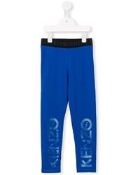 blaue bedruckte Jogginghose von Kenzo