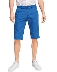 blaue bedruckte Shorts von edc by Esprit