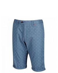 blaue bedruckte Shorts von Regatta