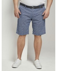 blaue bedruckte Shorts von TOM TAILOR Men Plus