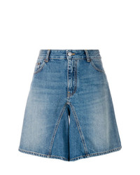 blaue Bermuda-Shorts aus Jeans von MM6 MAISON MARGIELA