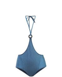 blaue Bikinihose von Morgan Lane