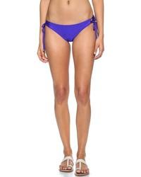 blaue Bikinihose von Shoshanna