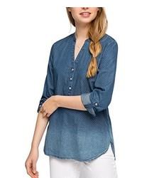 blaue Bluse von Esprit