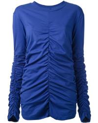 blaue Bluse von MSGM
