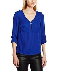 blaue Bluse von New Look