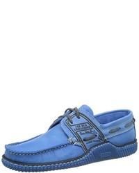 blaue Bootsschuhe von TBS