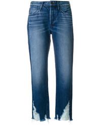 blaue Boyfriend Jeans von 3x1