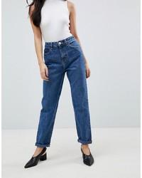 blaue Boyfriend Jeans von ASOS DESIGN